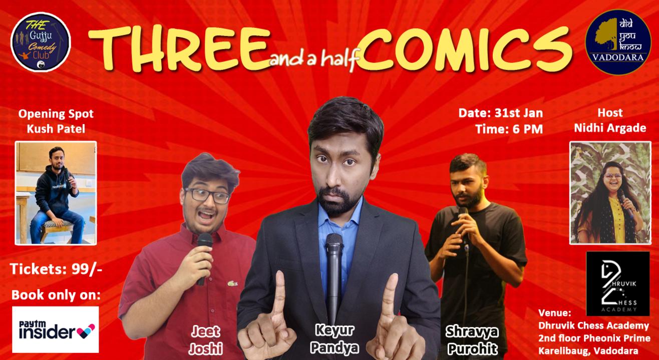 Three and a Half Comics - Vadodara