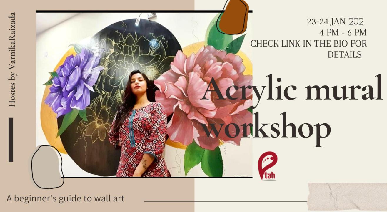 Acrylic Mural Wall Art Workshop