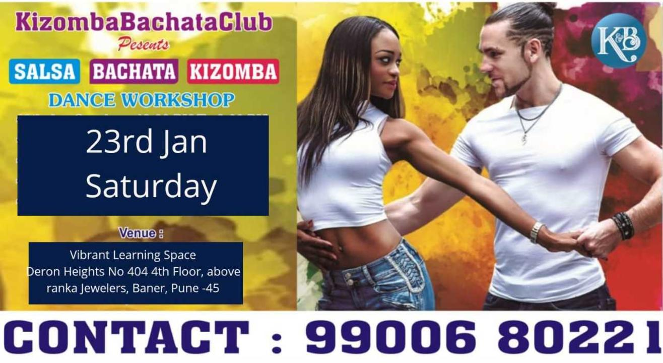FREE SALSA Bachata and KIZOMBA Dance WORKSHOP