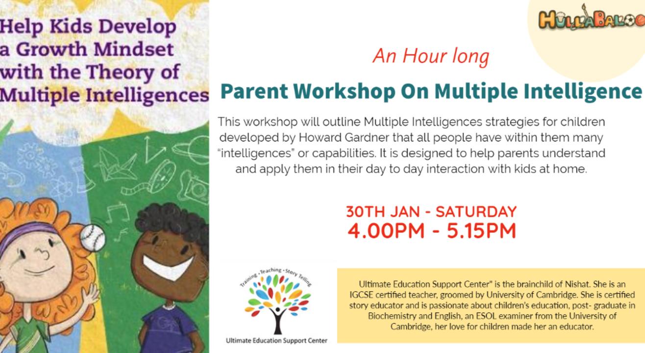 Parent Workshop on Multiple Intelligence