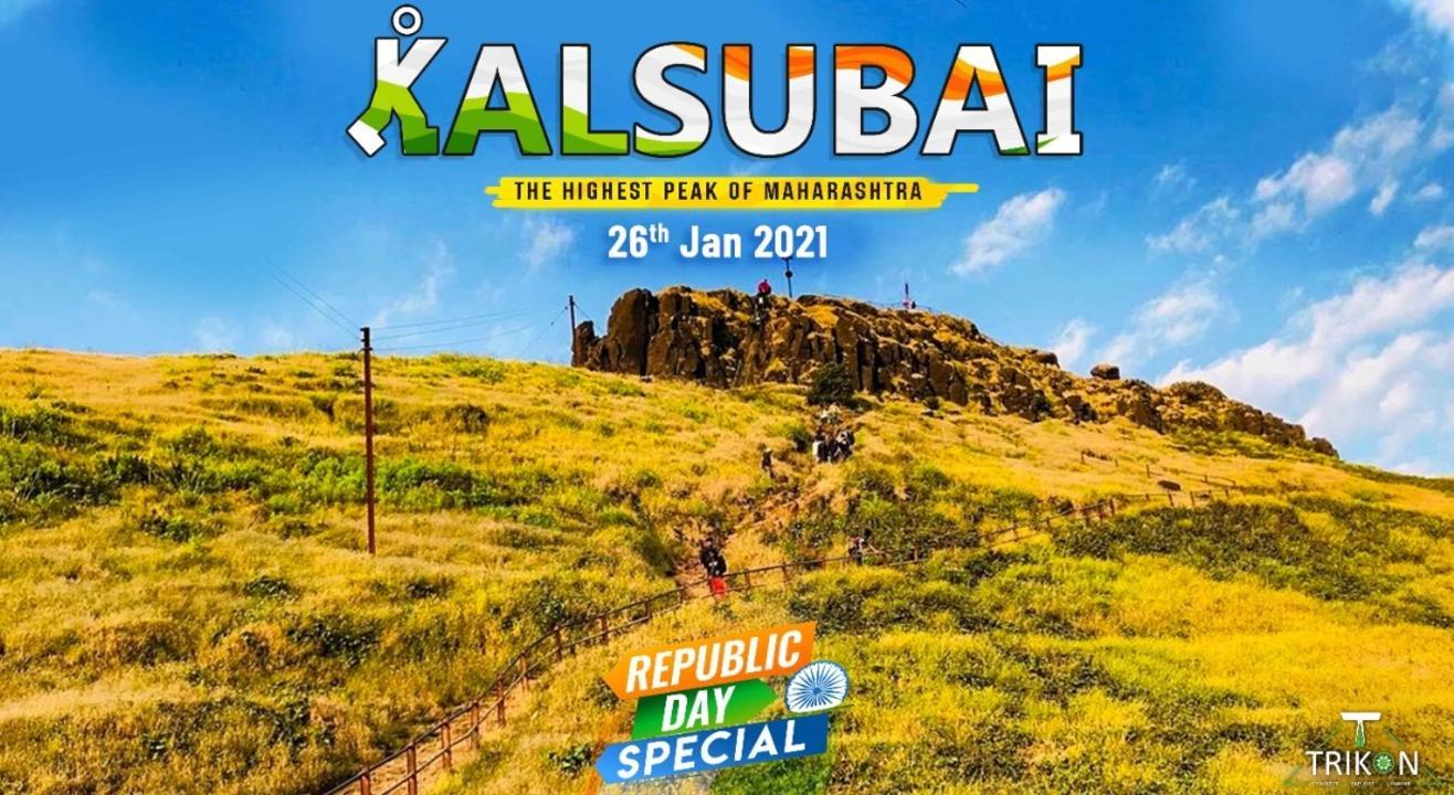 Night Trek At Kalsubai Peak with Trikon