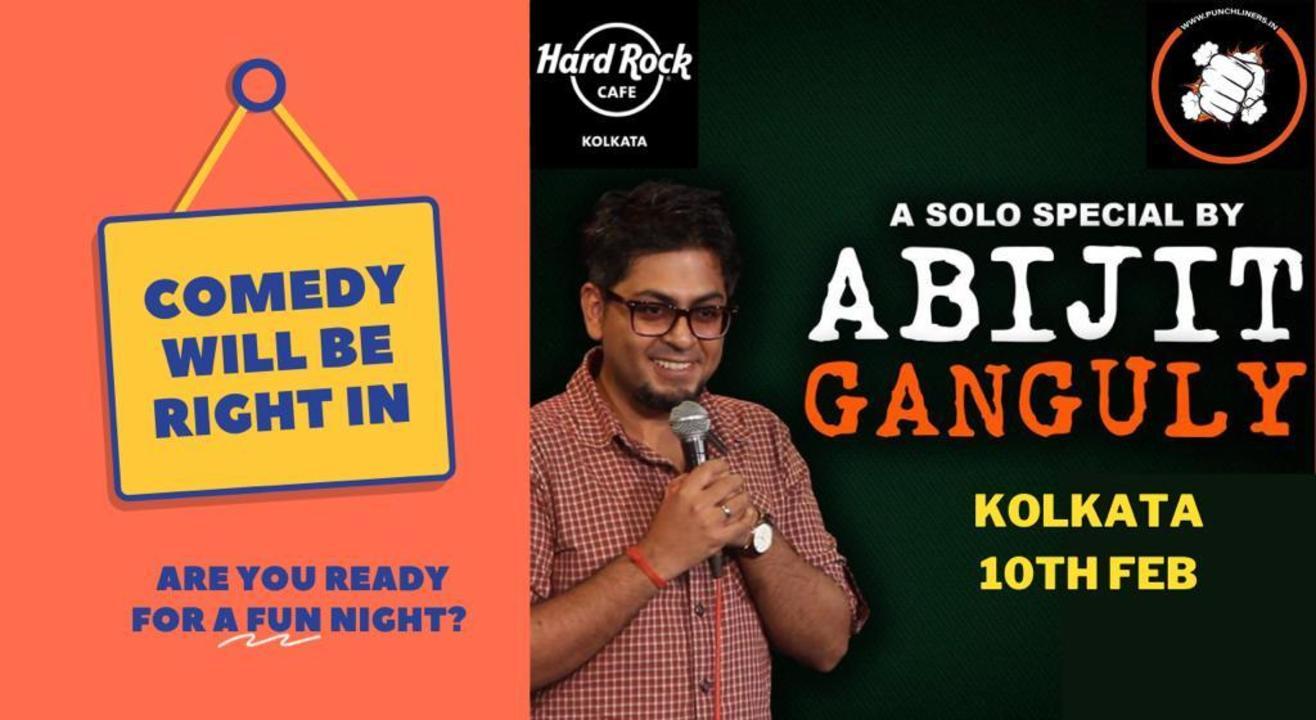 Punchliners Comedy Show ft Abijit Ganguly in Kolkata