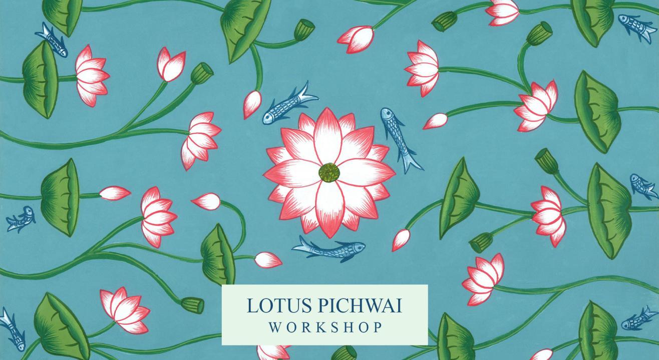 Lotus Pichwai Workshop