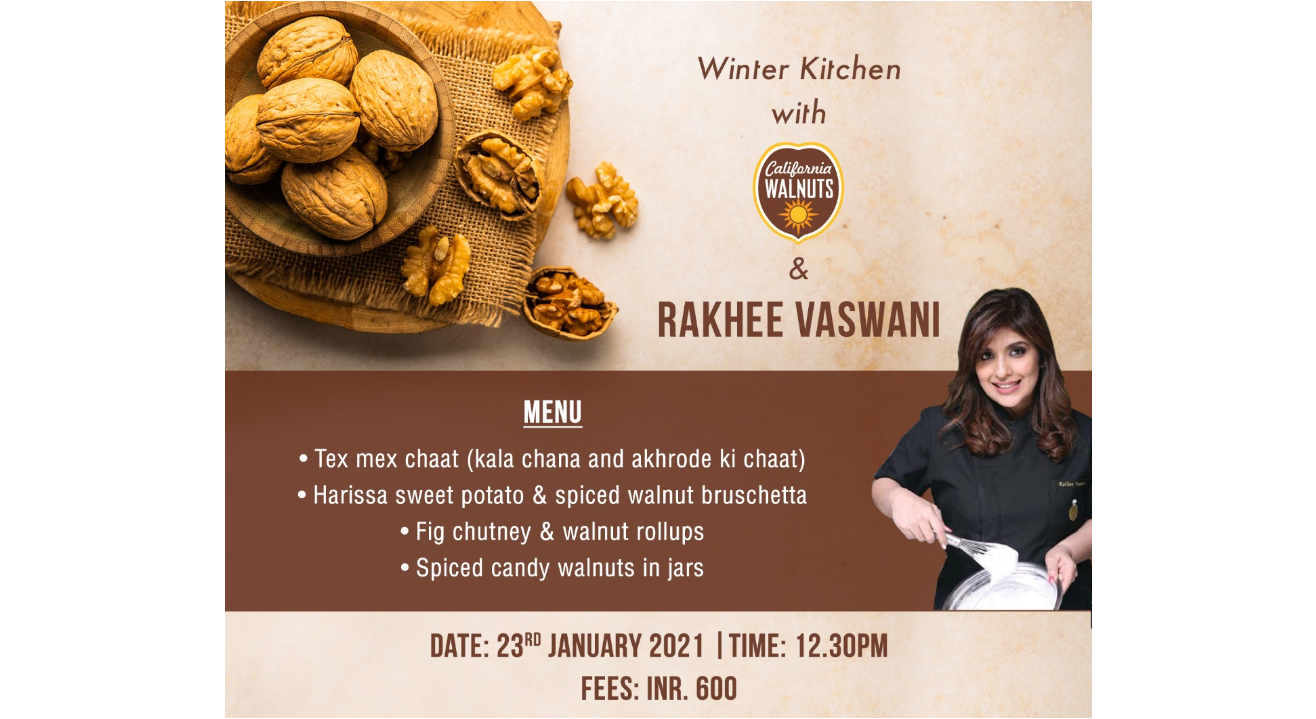 Winter Kitchen with California Walnuts & Rakhee Vaswani