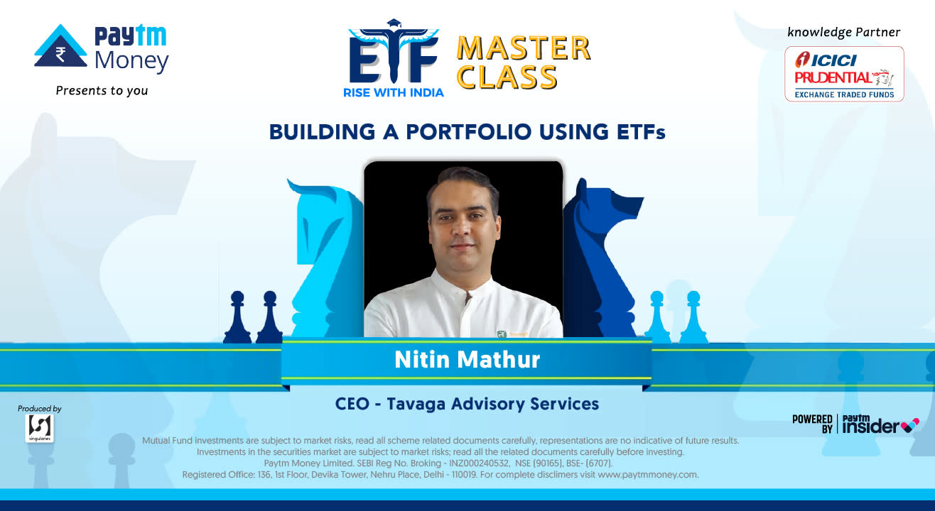 Building a portfolio using ETFs with Nitin Mathur
