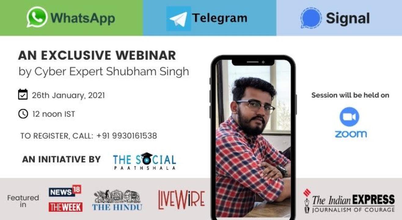 WhatsApp Vs Telegram Vs Signal - Exclusive Webinar