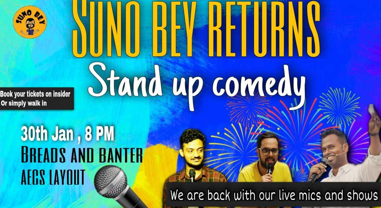 Stand Up Comedy| AECS Layout | Bangalore