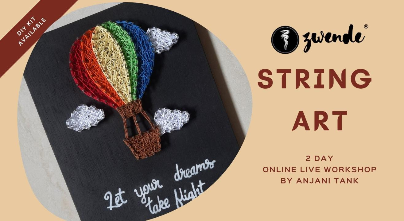 String Art [Online Live Workshop - Material Kit Available]