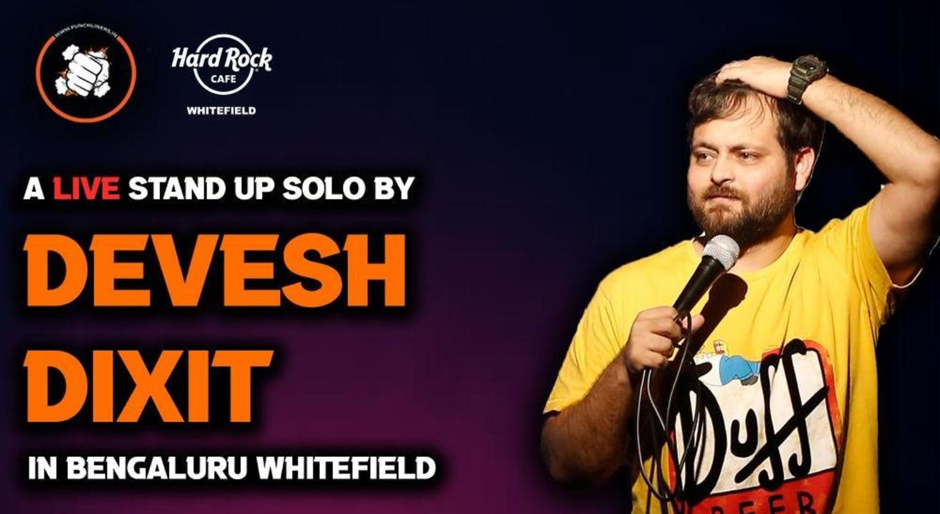 Punchliners Comedy Show ft Devesh Dixit in Whitefield