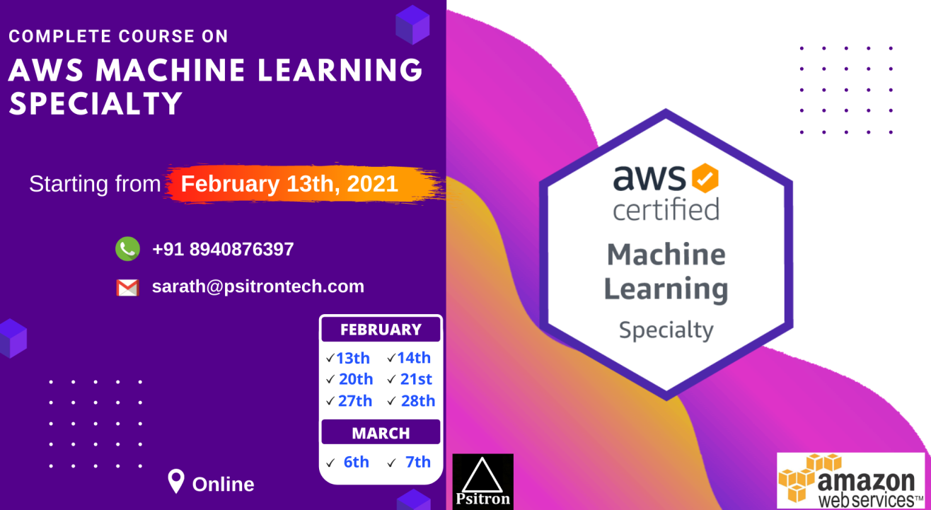 AWS Machine Learning Specialty Course