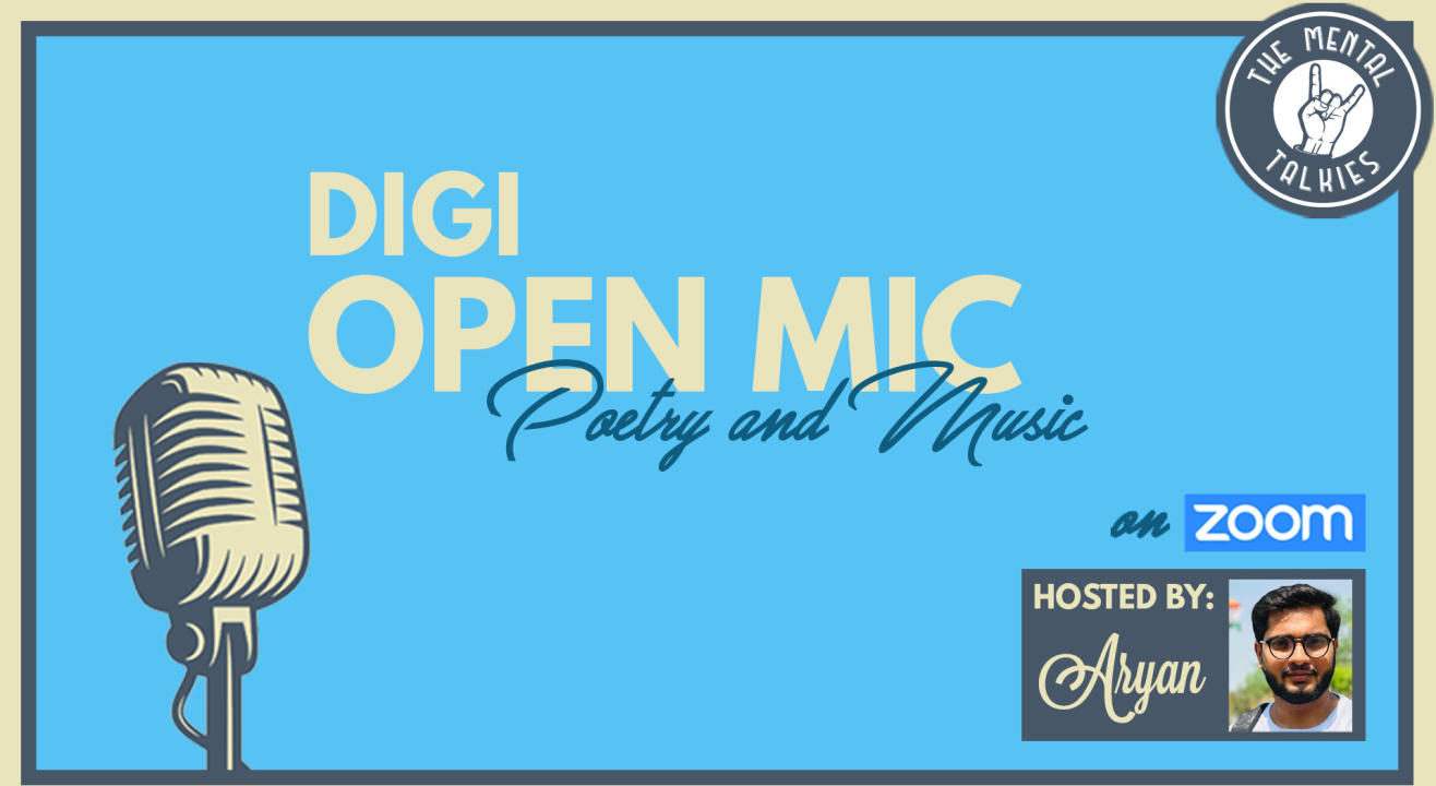 DiGi Open Mic-Poetry and Music