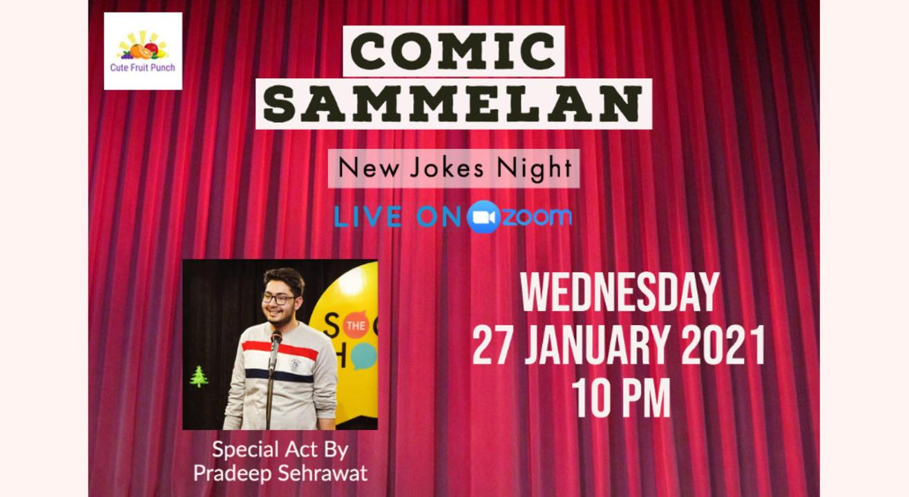 Comic Sammelan - Online Stand Up Comedy Show