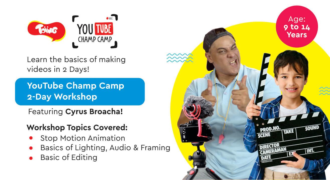 YouTube Champ Camp 2-Day Workshop