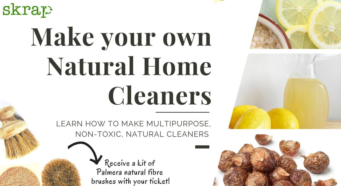 Make your Natural Home Cleaners