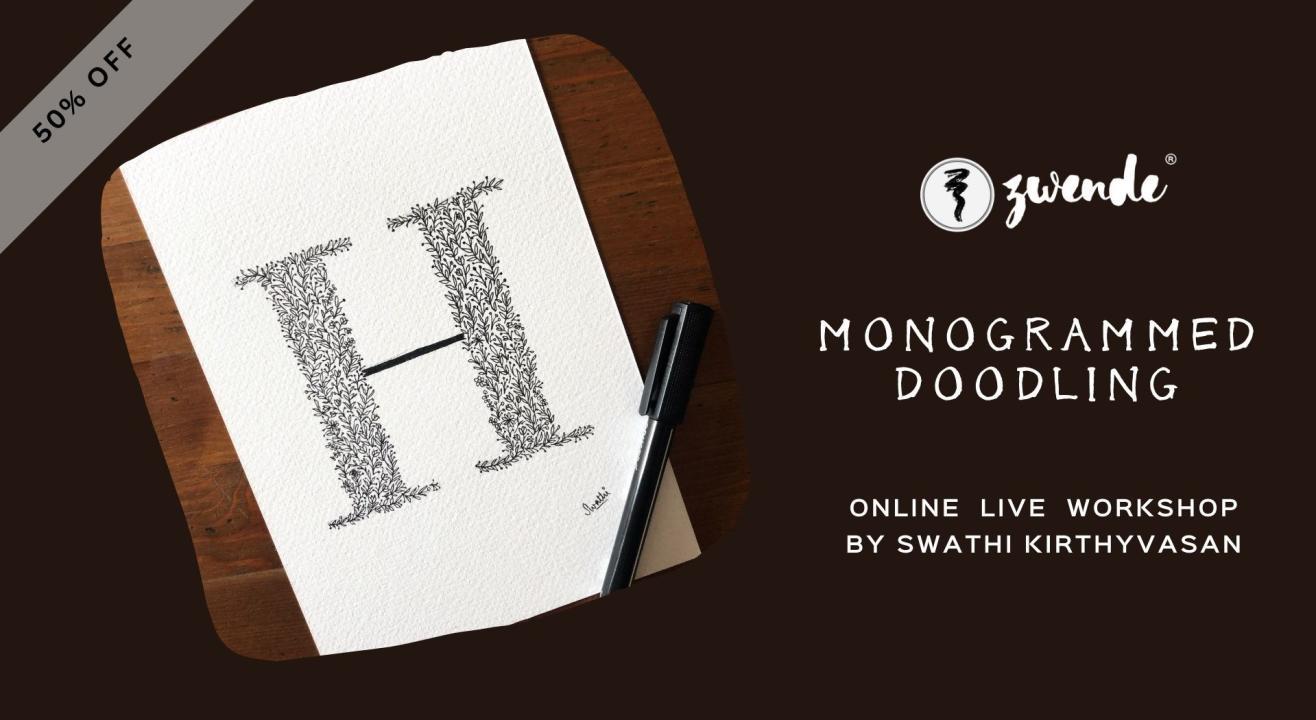 Monogrammed Doodling [Online Live Workshop]