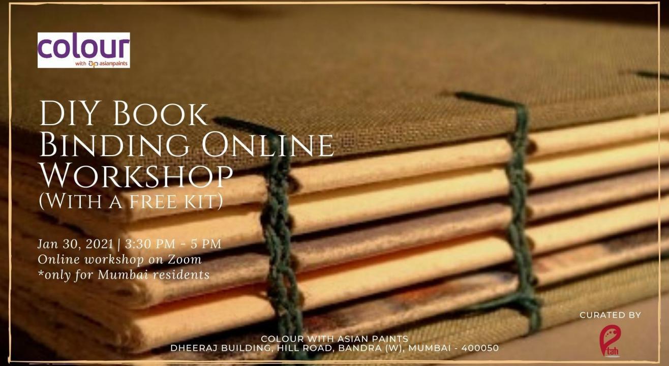 DIY Book Binding Online Workshop