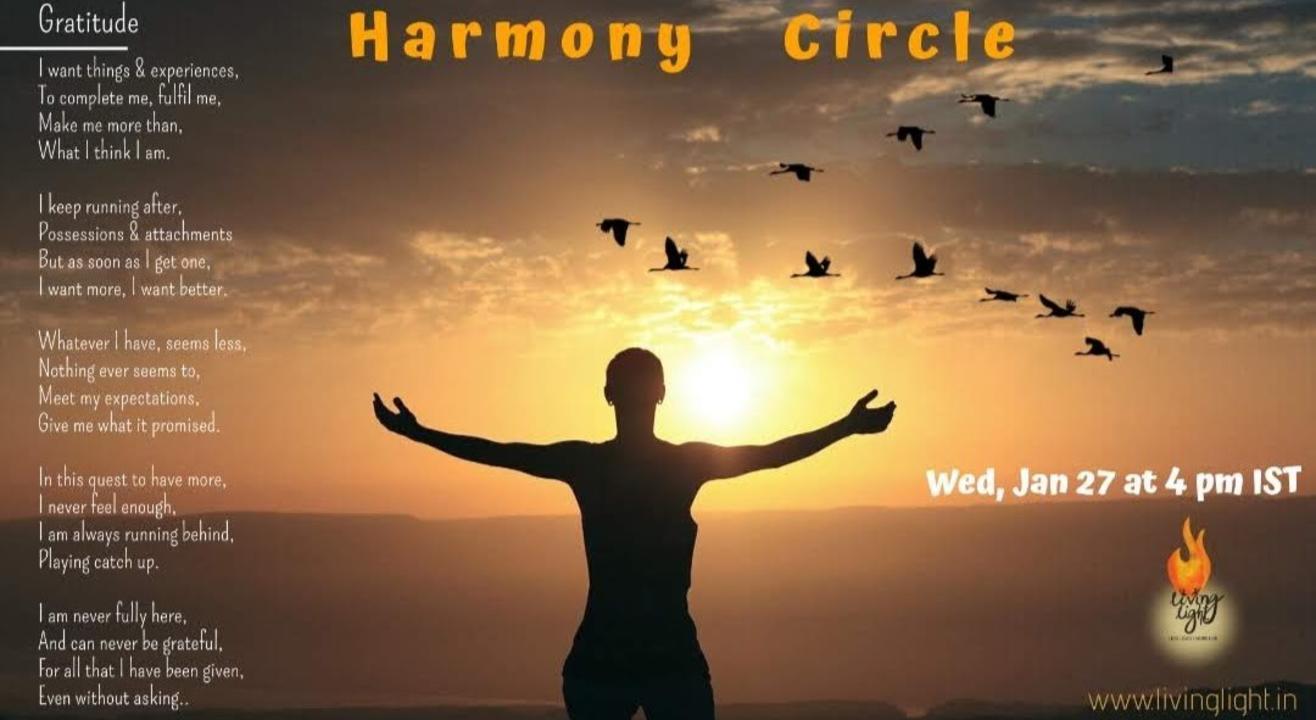 Harmony Circle - Gratitude