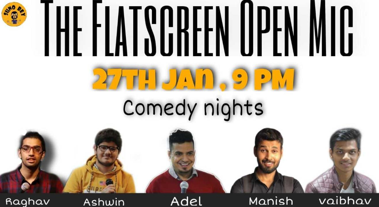 Comedy Nights  Flat Screen Special Mic  Suno Bey