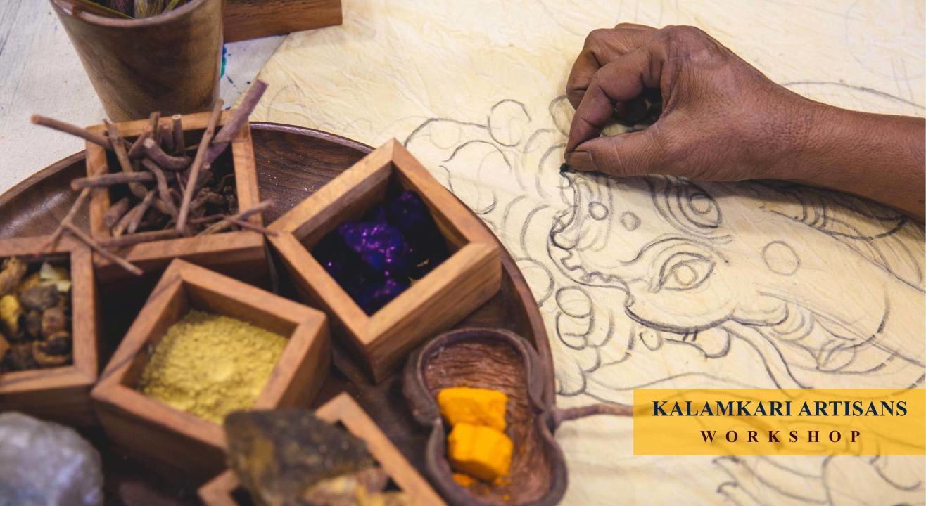 Kalamkari Artisans Workshop