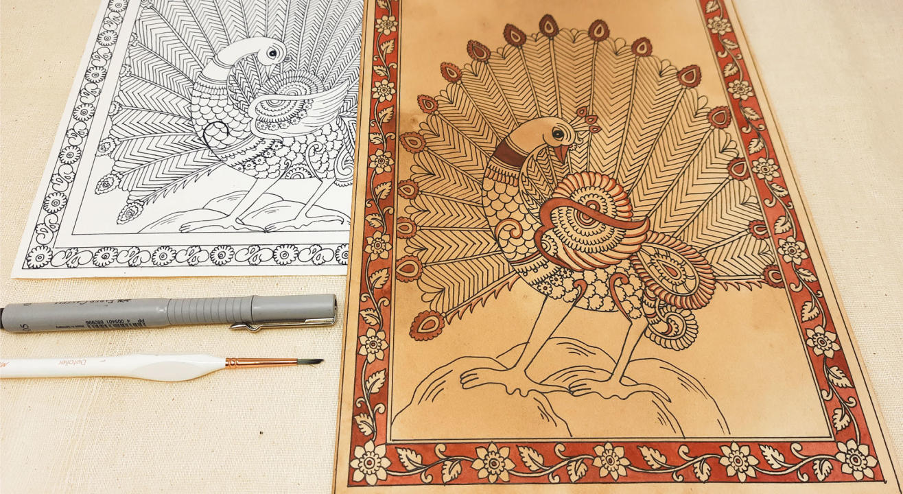 Kalamkari Painting (Birds) Workshop