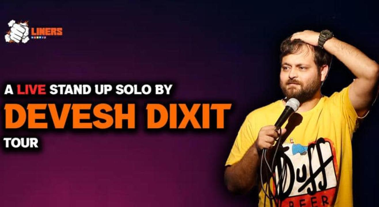 Punchliners Comedy Show ft Devesh Dixit In Bangalore