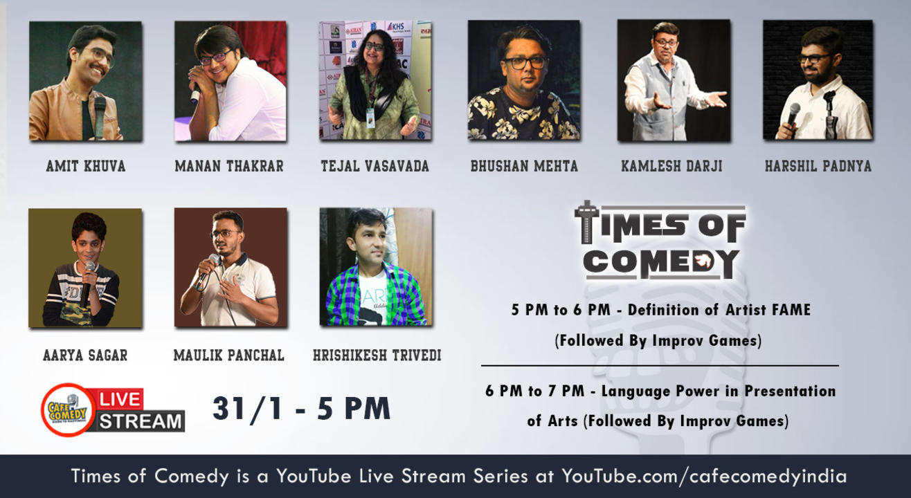 Times of Comedy : 2 Hours Live Stream