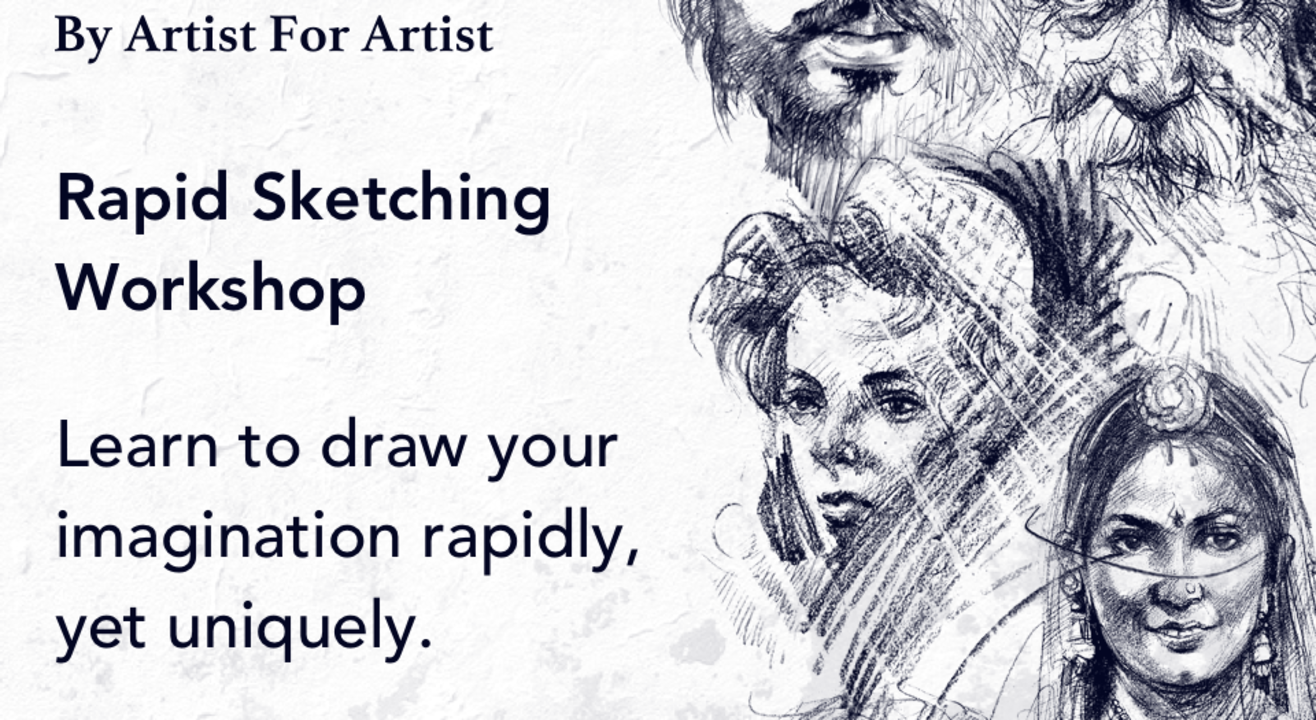 Rapid Sketching Workshop with BAFA