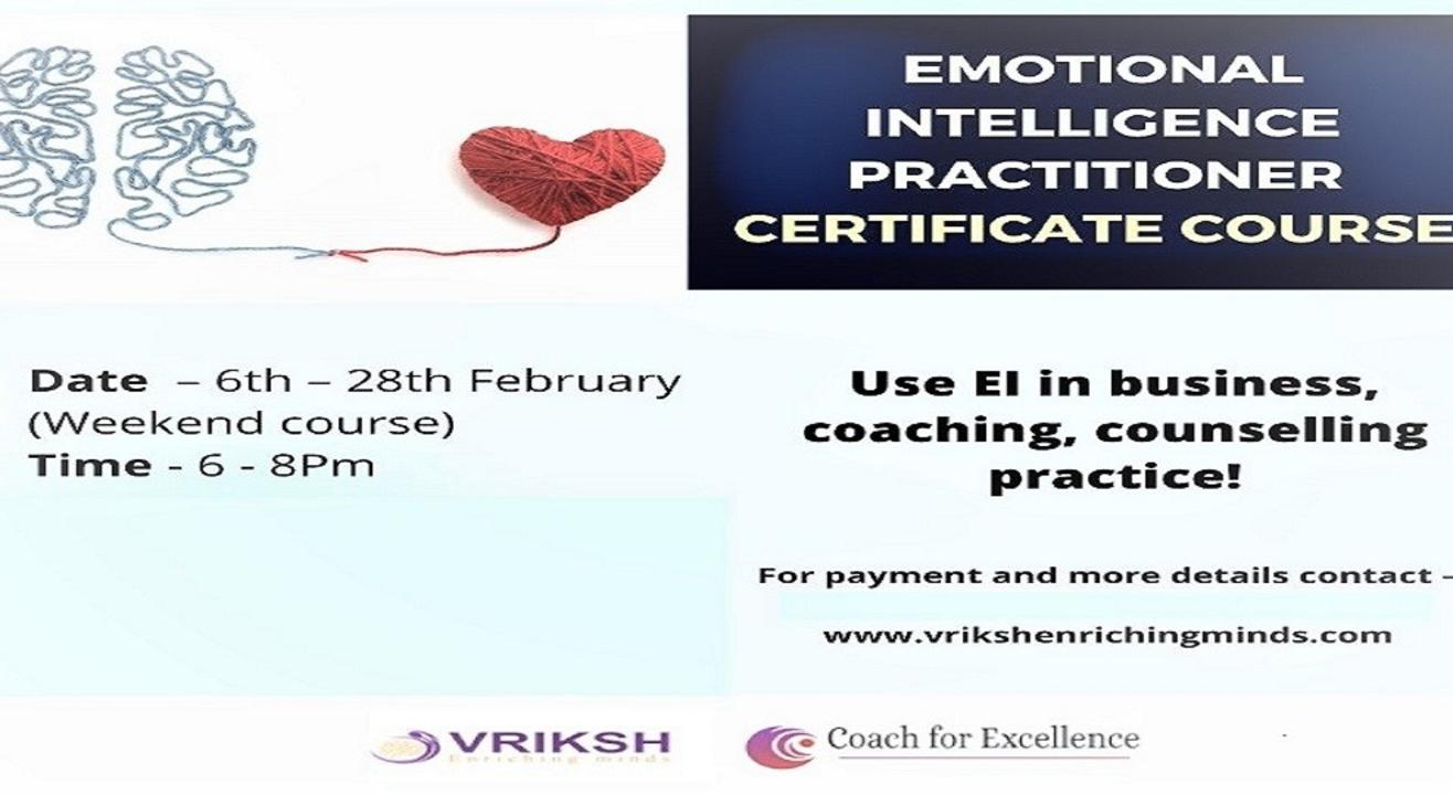 Certificate Course on Emotional Intelligence Practitioner Course