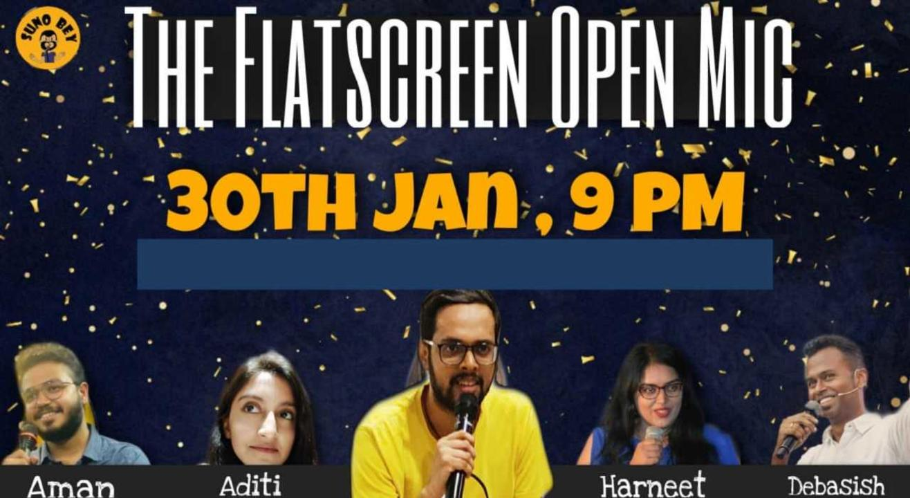 Comedy Nights| Flat Screen Special Mic |Suno Bey