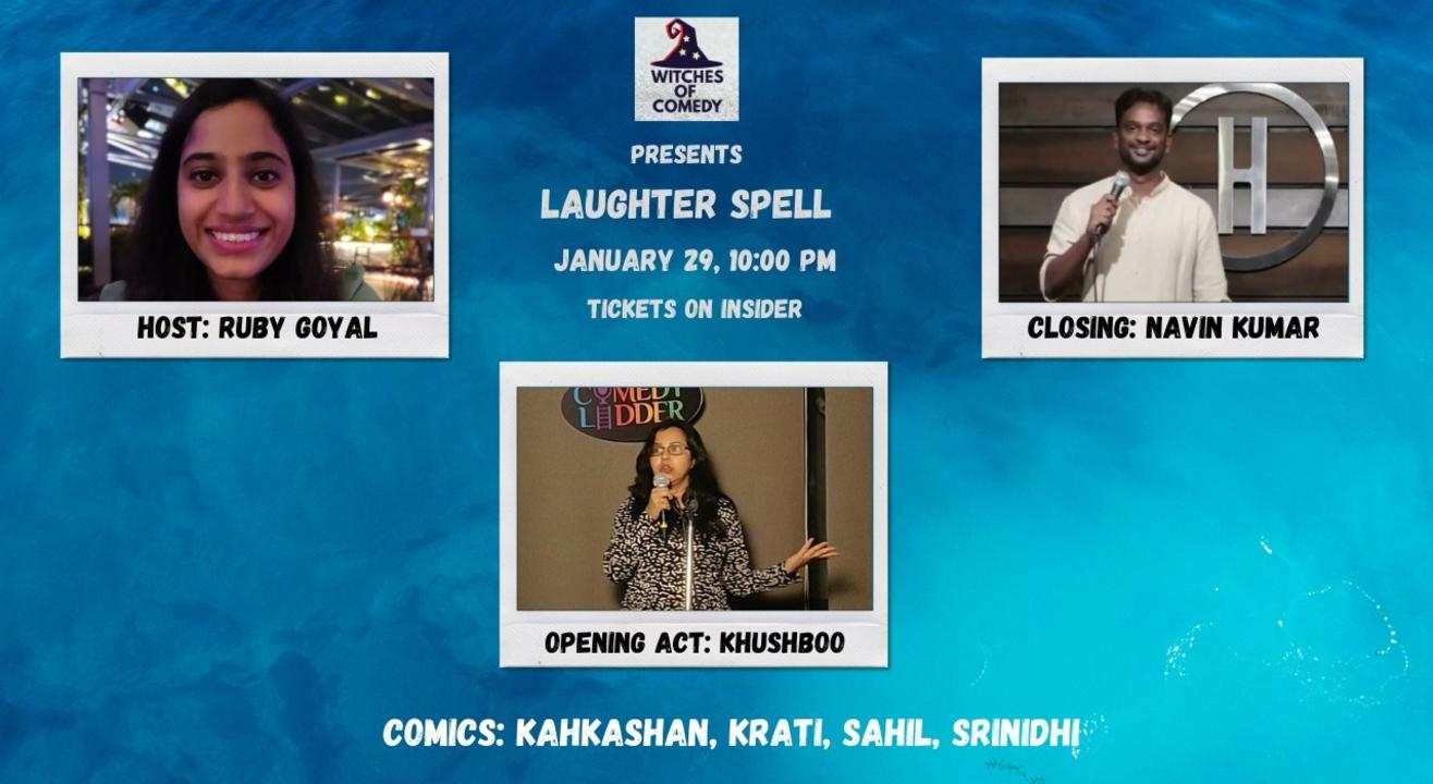Witches Of Comedy Laughter Spell - 29/12/2020