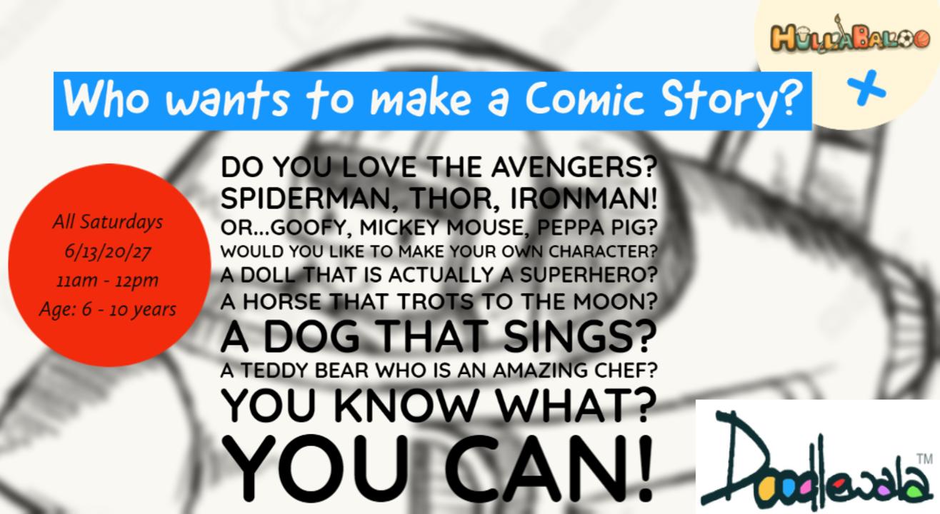 Who wants to make a Comic Story?