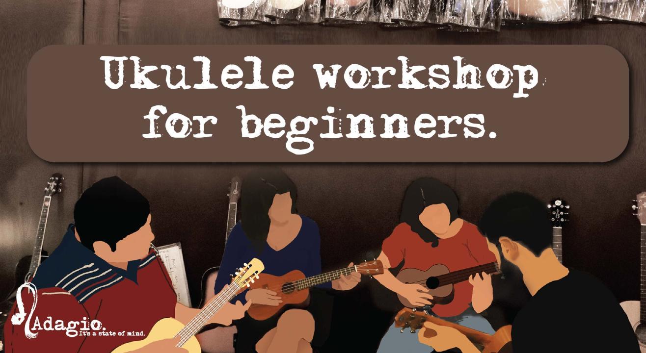 Ukulele workshop for beginners by Adagio