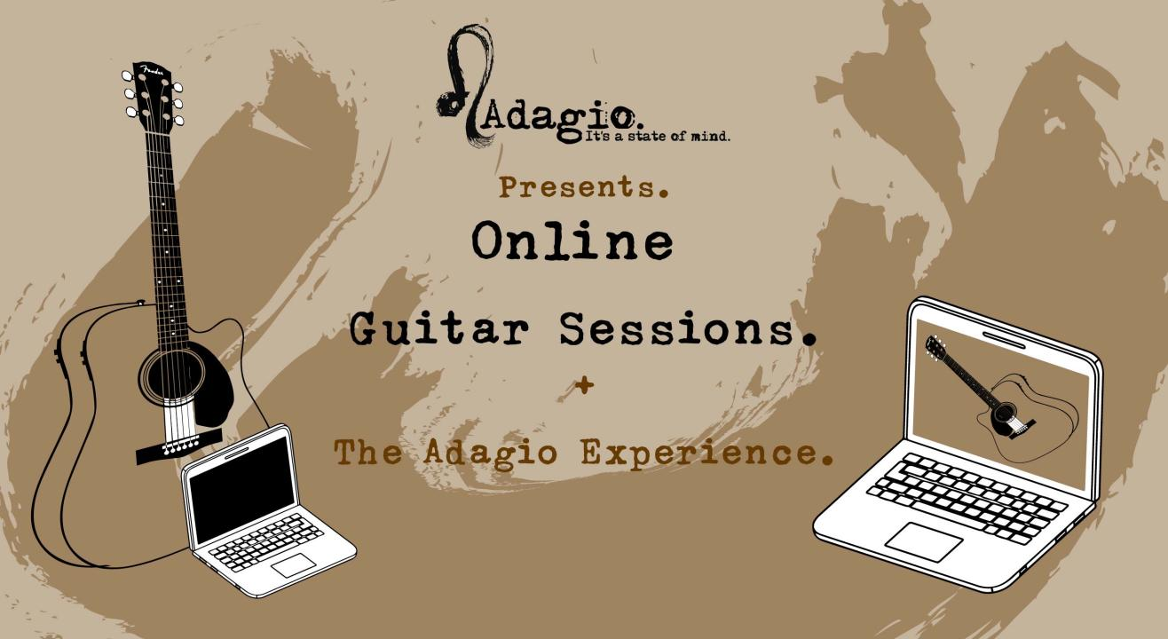 Online Guitar Sessions by Adagio
