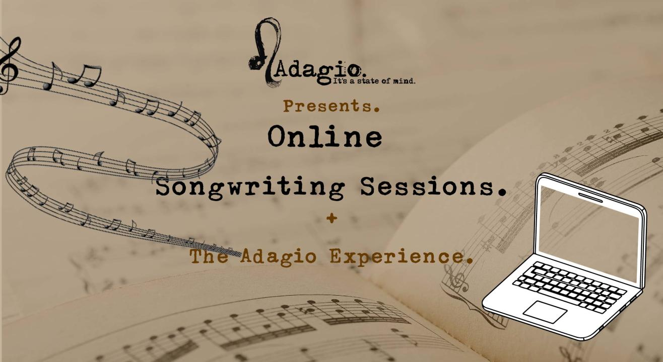 Online songwriting sessions by Adagio