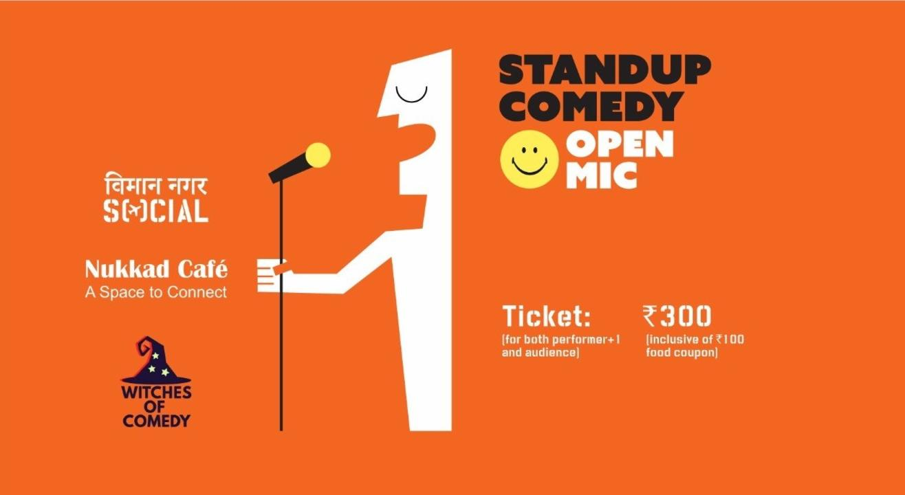 Stand Up Comedy Open Mic - Viman Nagar Social