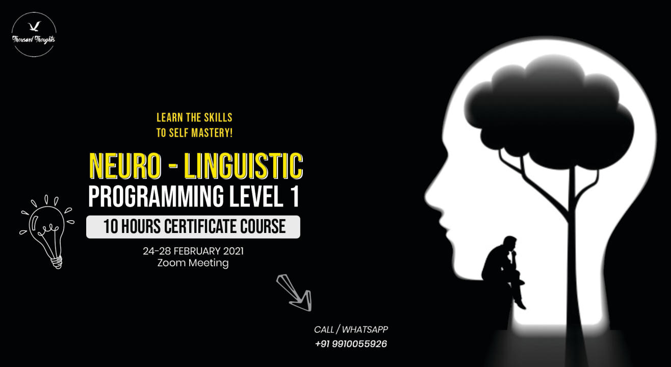 NLP Level 1 Certificate Course