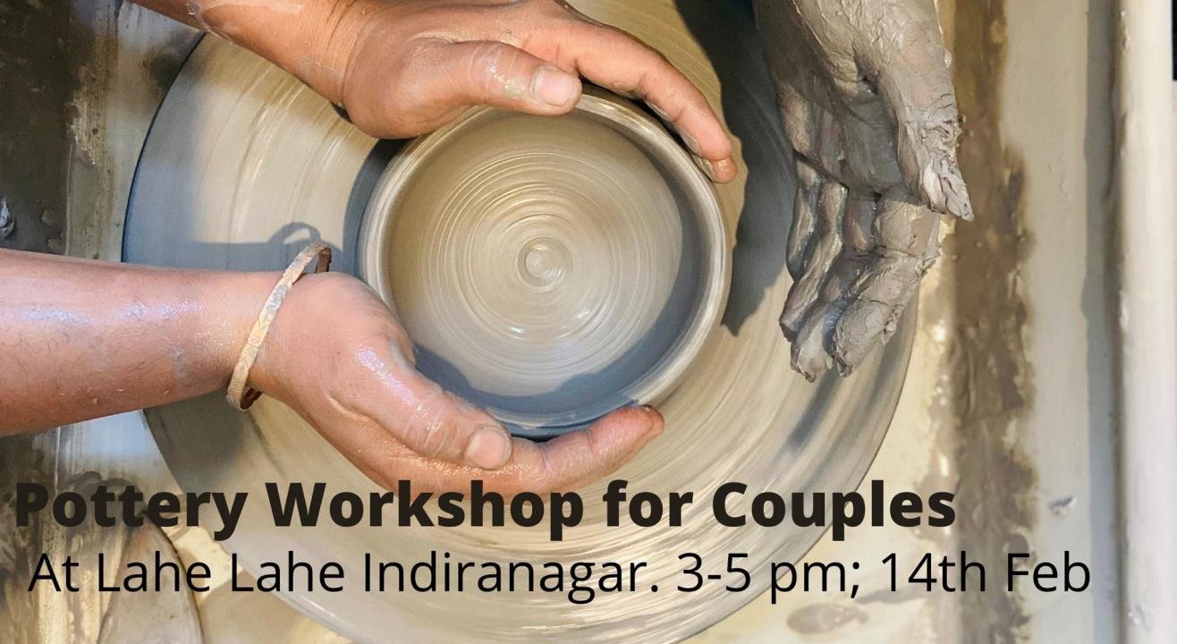 Pottery Workshop for Couples on Valentines Day