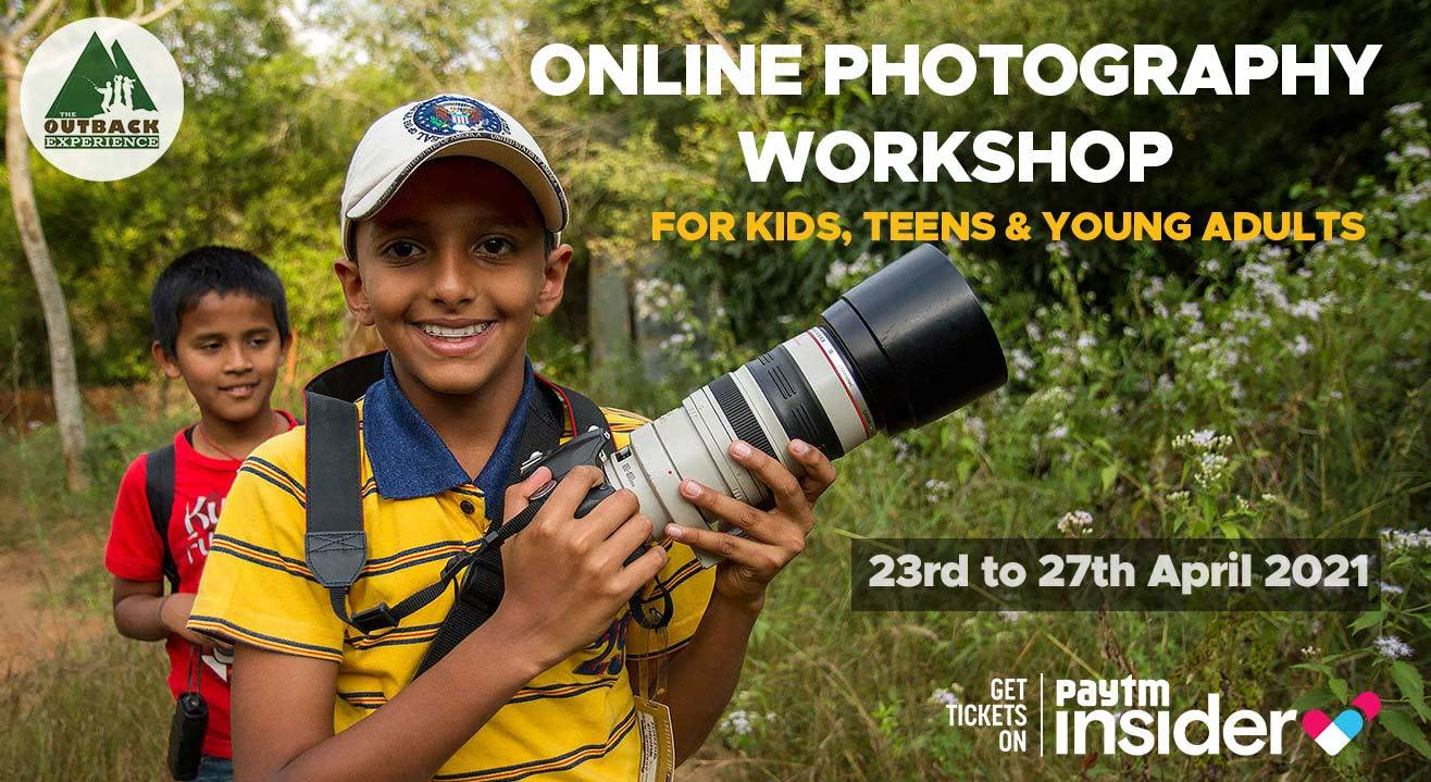 Online Photography Workshop for Kids, Teens & Young Adults