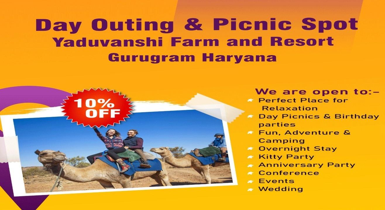 Day Outing & Staycation Package @ Yaduvanshi Farm And Resort Gurugram
