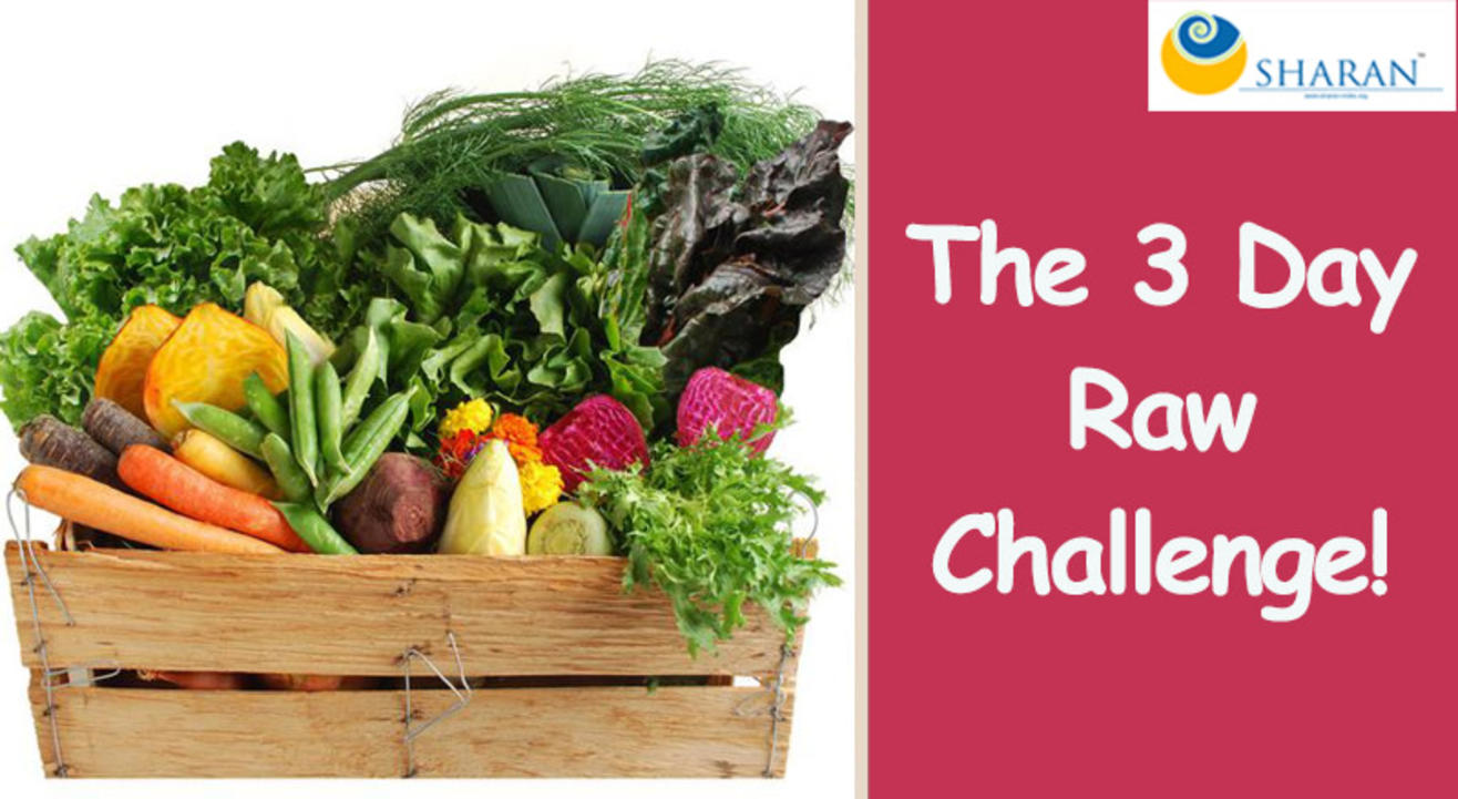 The 3 Day Raw Challenge!