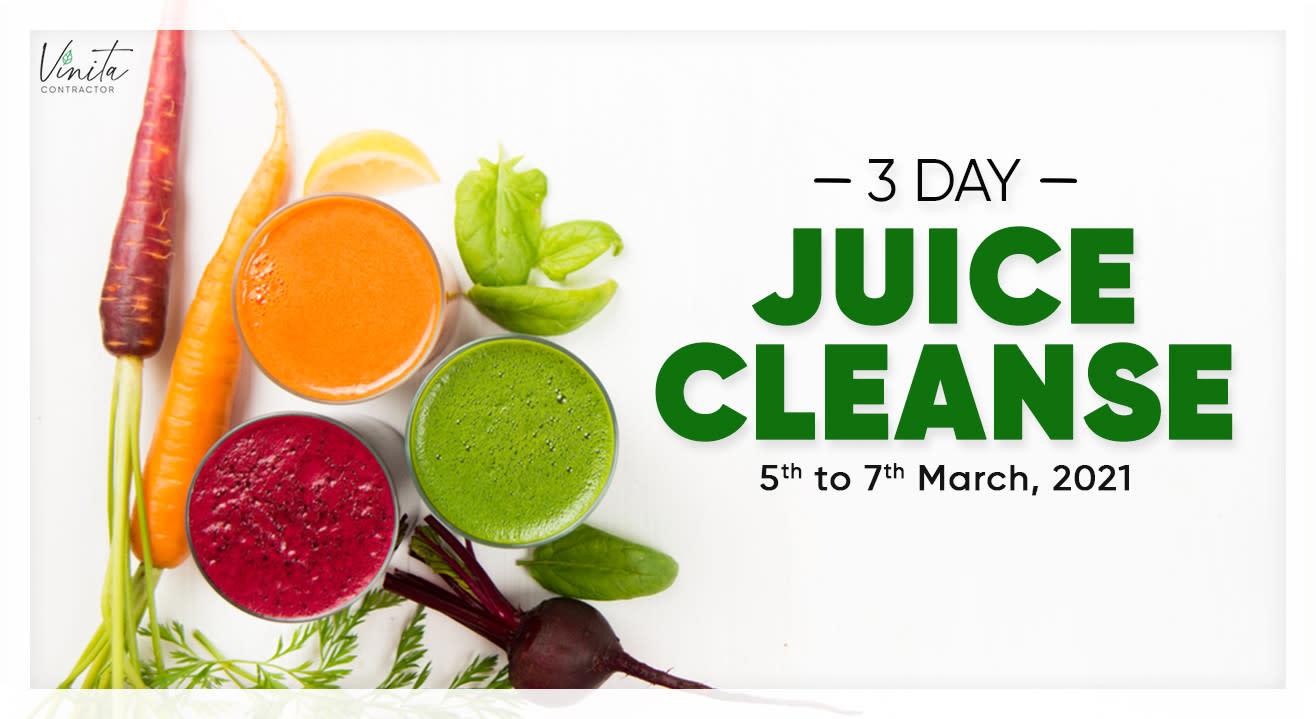 3-Day Online Juice Cleanse Program with Vinita Contractor