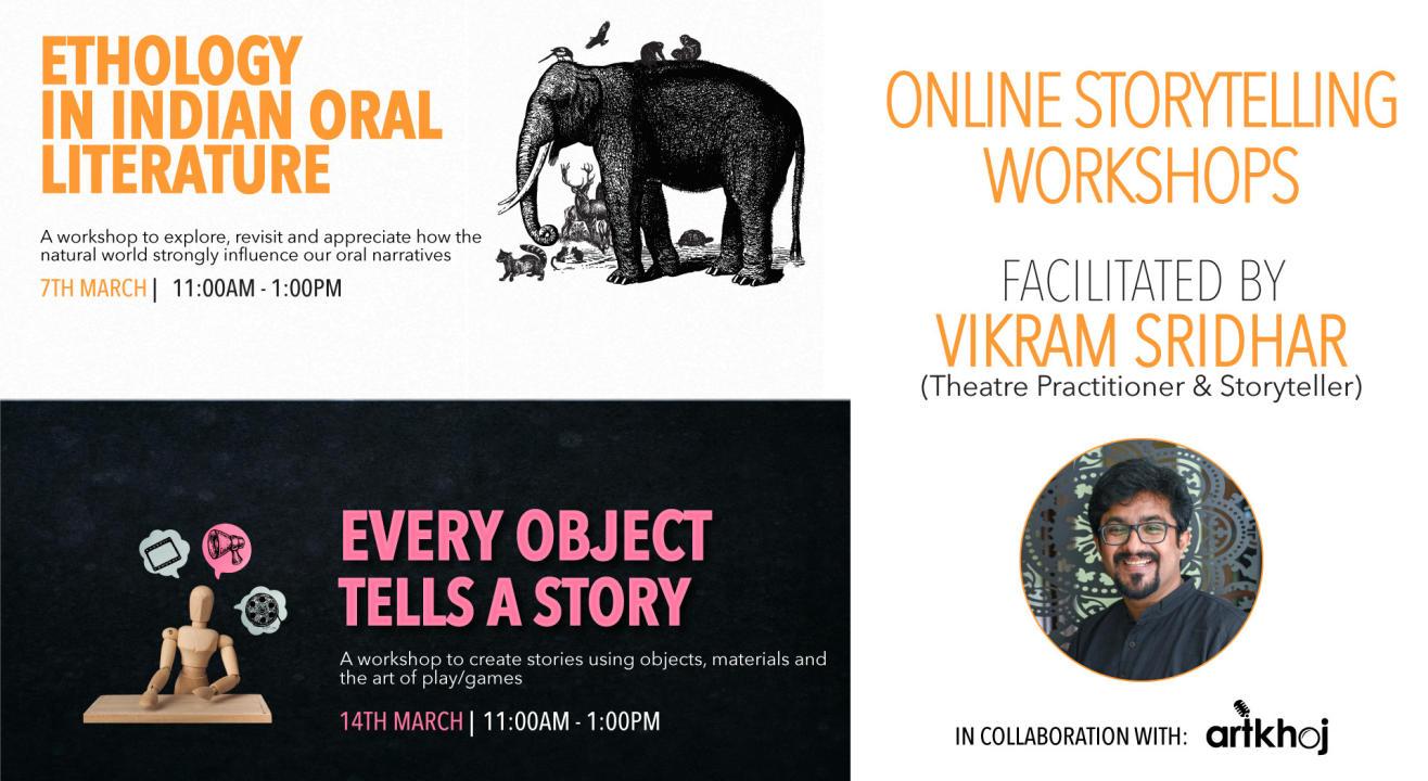 Online Storytelling Workshops by Vikram Sridhar