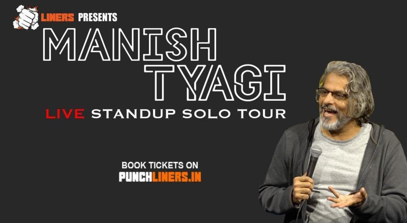 Punchliners Comedy Show Ft. Manish Tyagi in Jaipur