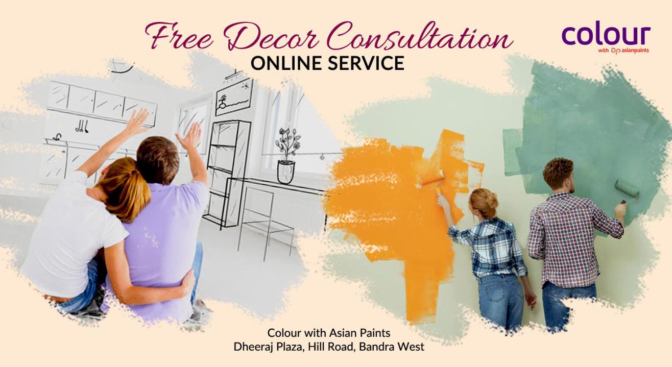 Free Décor Consultation Online Service by Colour with Asian Paints