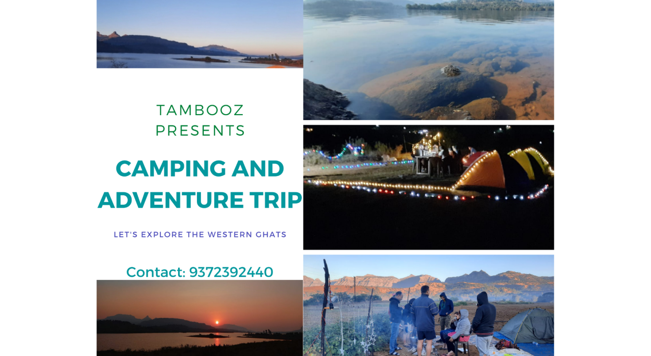 Tambooz - Camping and Adventure Trip at Bhandardara