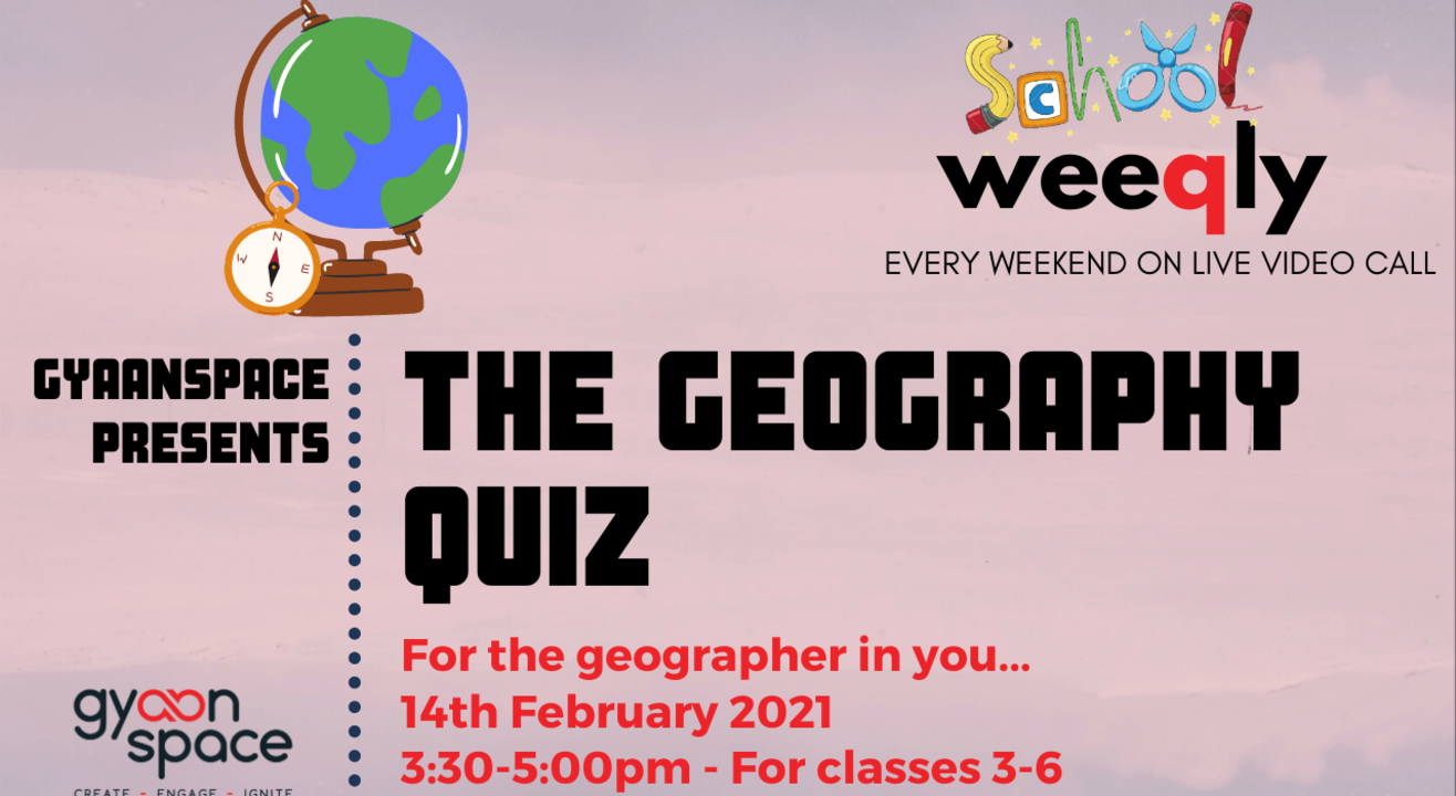 The Geography Quiz for Class III- VI by Gyaanspace