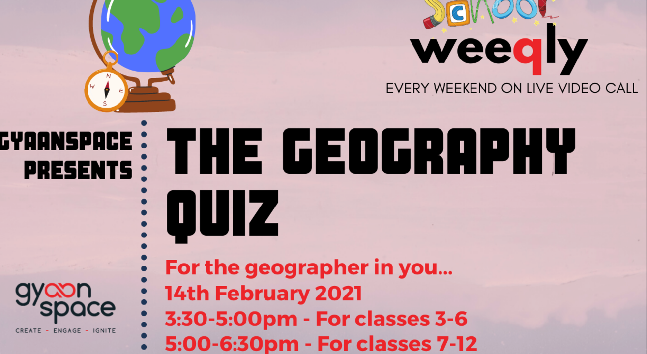 The Geography Quiz for Class VII- XII by Gyaanspace