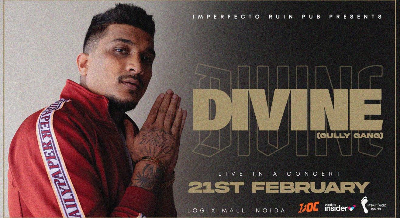 Divine Live In A Concert | Imperfecto Ruin Pub