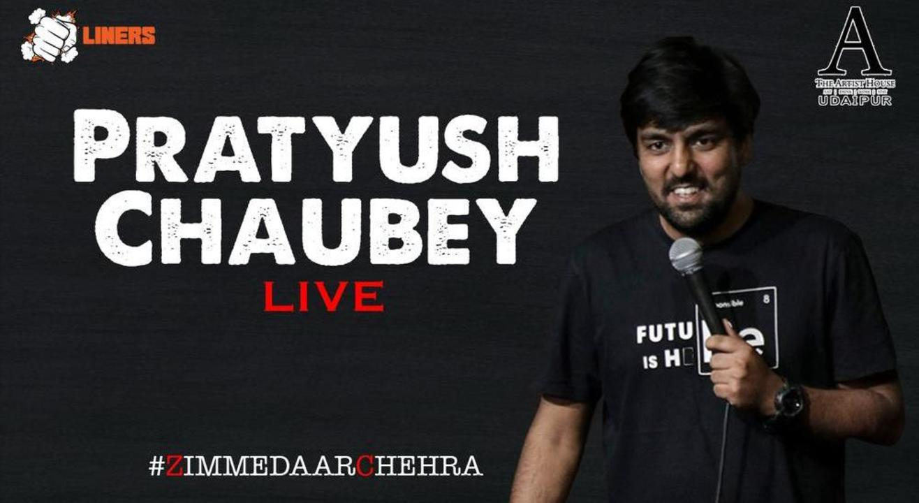 Punchliners Comedy Show Ft. Pratyush Chaubey in Udaipur