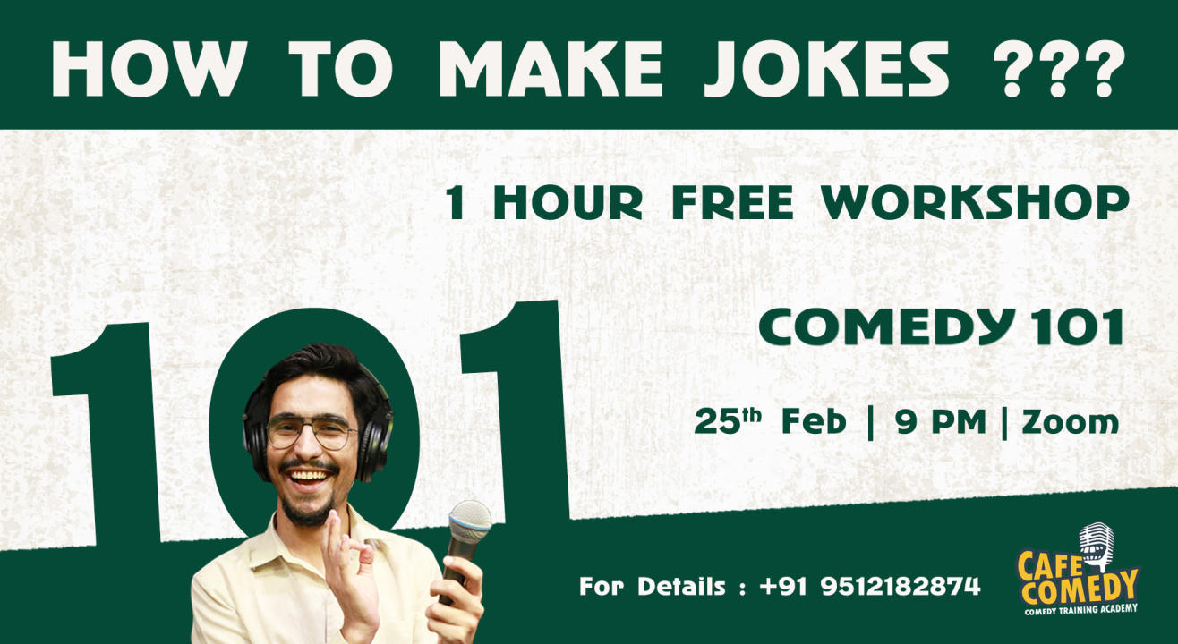 How To Make Jokes? : Comedy Workshop